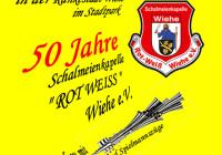 """50 Jahre Schalmeienkapelle """"Rot Weiss"""" Wiehe e.V."""