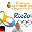 Gratulation zu Olympiagold in Wiehe
