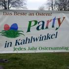 , Osterparty in Kahlwinkel